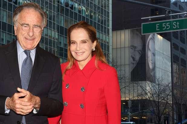 Миллиардер разместил напротив окон квартиры бывшей жены фотографию новой супруги Интересное