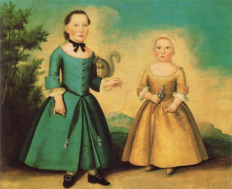 Трансгендеры прошлых столетий: мальчики носили юбки до школьной скамьи дети