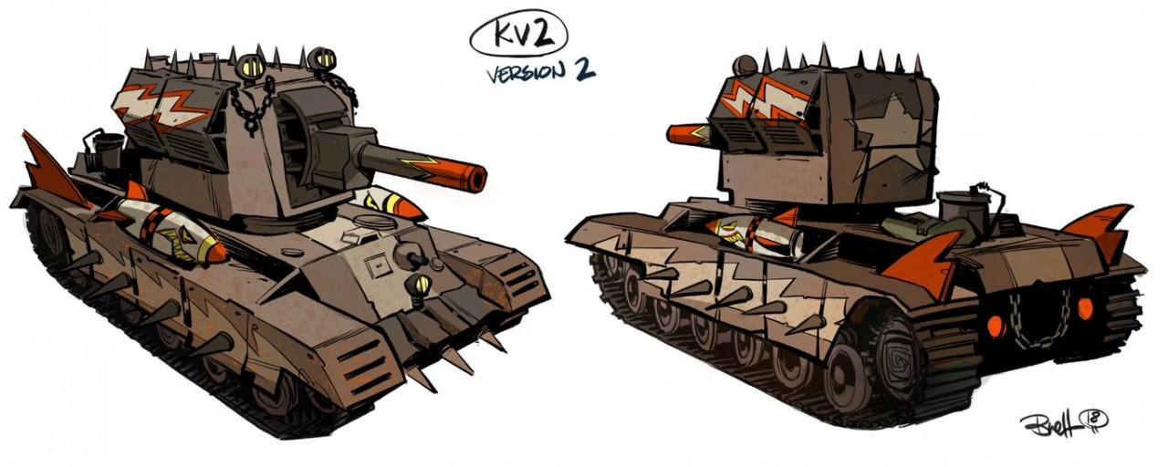 В World of Tanks Blitz добавят танк «Крушитель», созданный автором комиксов Tank Girl Action