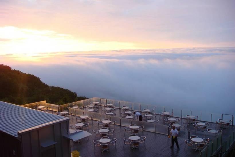 Ункай – сказочное место над облаками авиатур