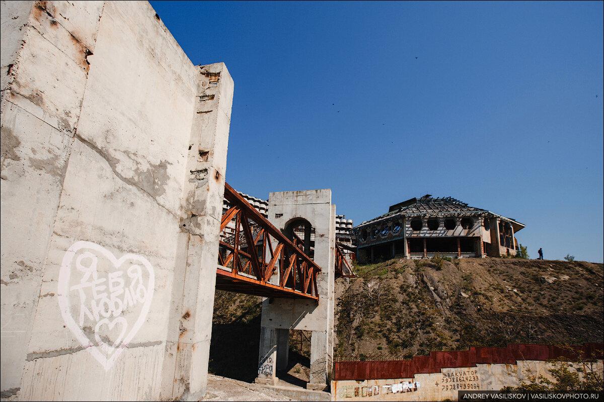 Огромный заброшенный санаторий в Крыму авиатур