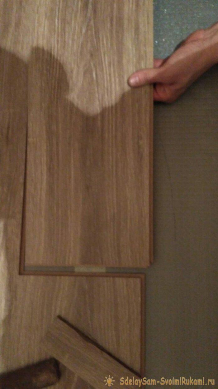 Укладка ламината своими руками ремонт