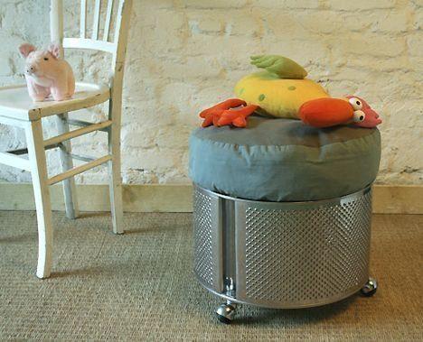 Подарим старой стиральной машинке новую жизнь! новая жизнь старых вещей