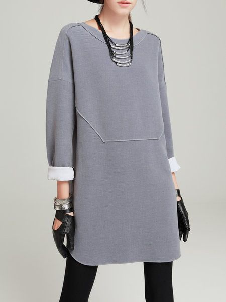 Платья на основе свитшота женские хобби