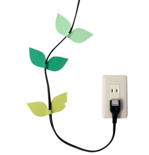 16 креативных способов спрятать провода и кабели