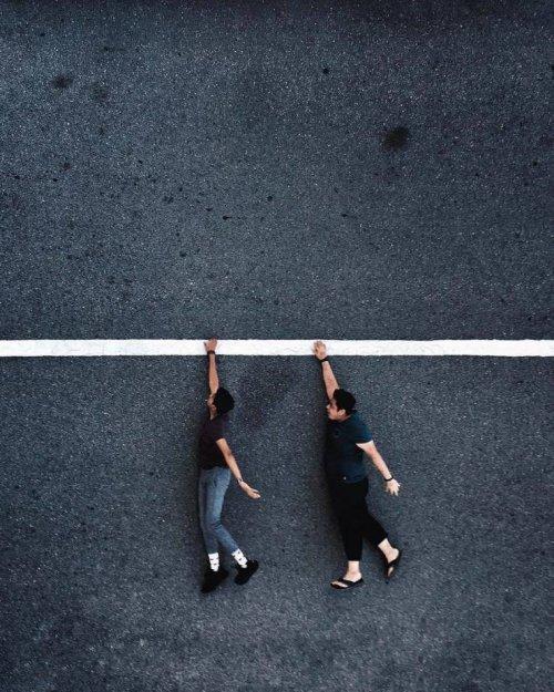 Прикольные фотографии, на которых всё решают ракурс и перспектива